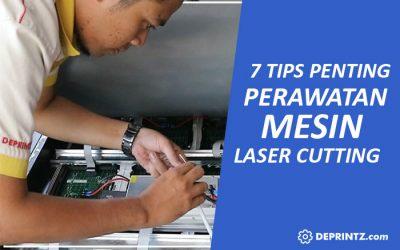 7 Tips Perawatan Mesin Laser Cutting Engraving