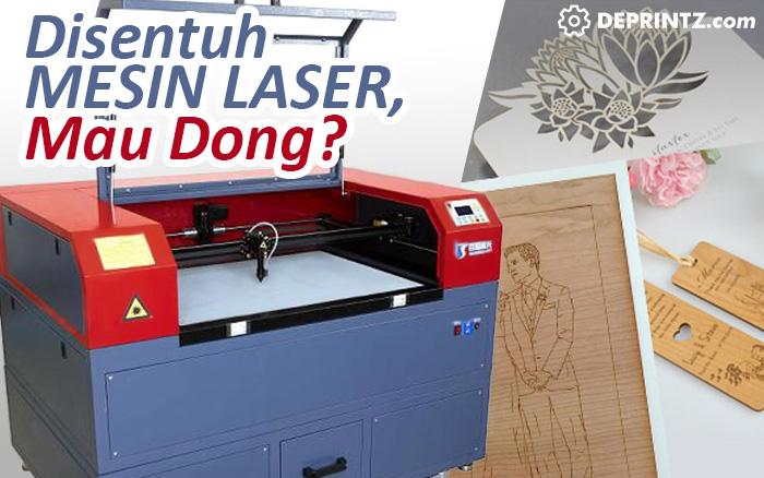 1 kali Sentuhan mesin laser engraving, bikin usaha souvenirmu lebih beragam loh..