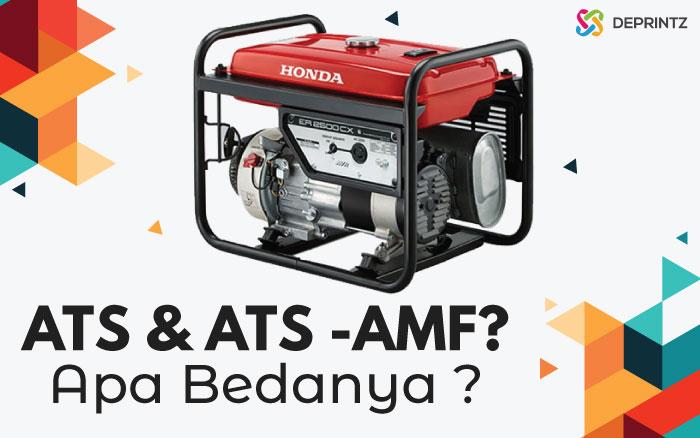 ATS dan ATS-AMF Pada Panel Genset, Apa Bedanya?