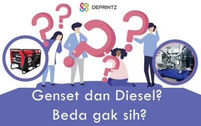 Genset dan Diesel? Ini Dia Perbedaanya!