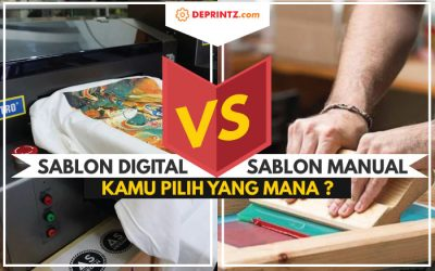 Sablon Manual dan Digital, Mana yang Lebih Unggul?