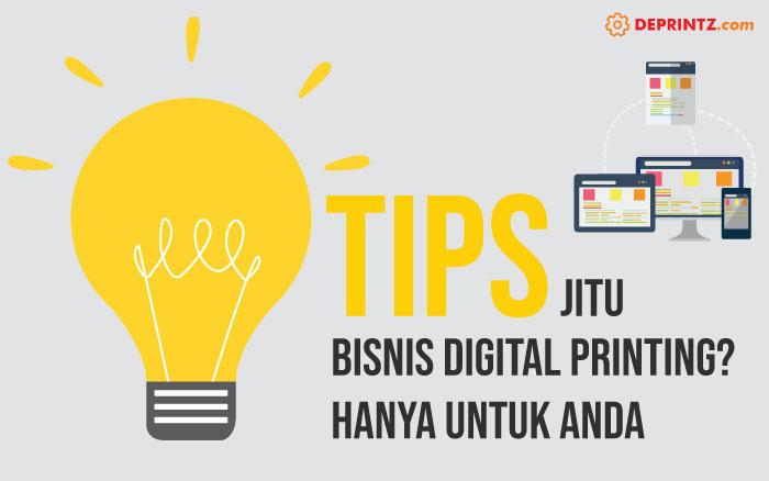 Peluang Usaha Digital Printing, Ternyata ini Tips Memulainya!