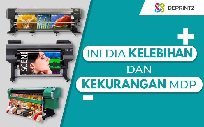 Kelebihan & Kekurangan Berbagai Mesin Digital Printing
