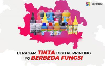 7 Macam Tinta Digital Printing dengan Fungsi Berbeda!
