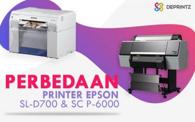 Printer Epson SL-D700 & SC-P6000, Bedanya dimana?