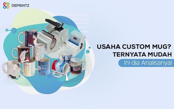 Analisa Usaha Custom Mug, Modal Sedikit Hasil Melejit!