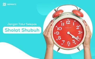 4 Manfaat Dahsyat Tidak Tidur Selepas Sholat Shubuh!