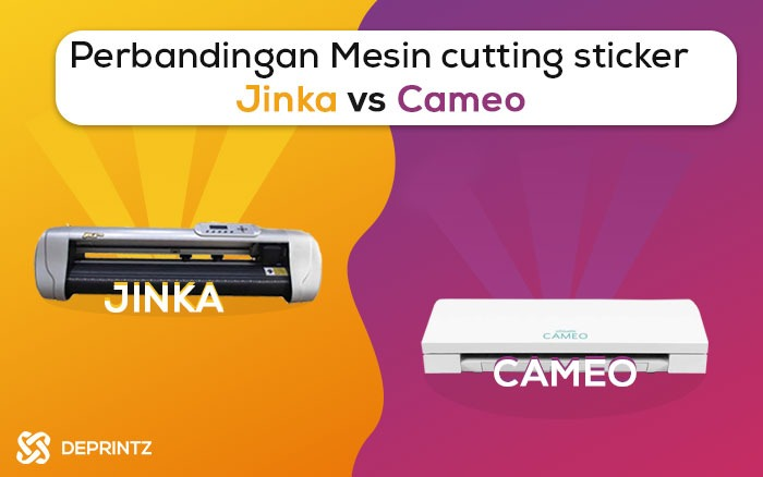 Mesin Cutting JINKA vs CAMEO Penting Anda Tahu!