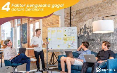 4 Faktor Persentase Pengusaha Gagal dalam Bisnis