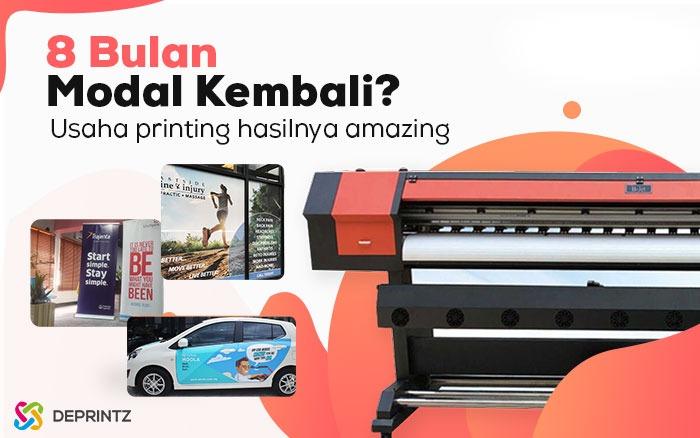 Mesin ATLAS, Mesin Usaha printing Hasil Amazing!