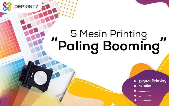 Mesin Multifungsi Paling Booming dalam Industri Printing!