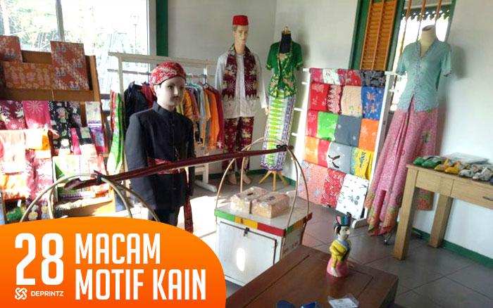 28 Macam motif kain untuk deain tekstil yang Kece Abis!