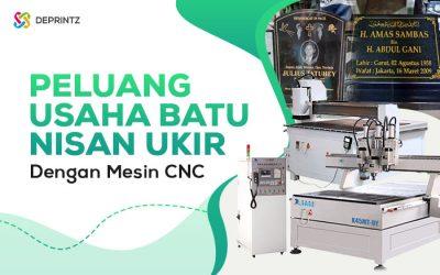 4 Mesin CNC ini Ciptakan Peluang Usaha Batu Nisan!