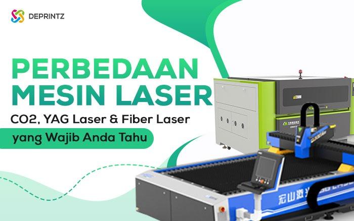 3 Mesin Laser Cutting dengan Jenis yang Berbeda!