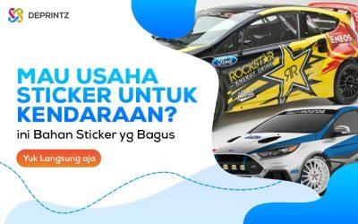 4 Jenis Bahan Sticker Terpopuler untuk Kendaraan!