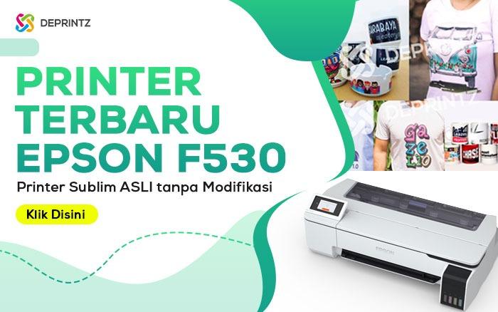 Printer Sublim terbaru ASLI EPSON, Pakarnya Sablon Rumahan!