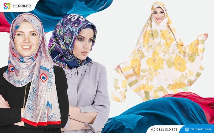Bisnis hijab dan mukenah