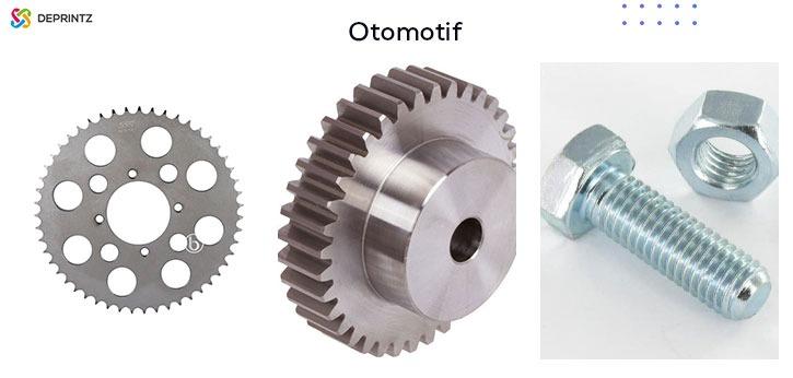 Hasil Mesin Laser Cutting Di Sektor Otomotif