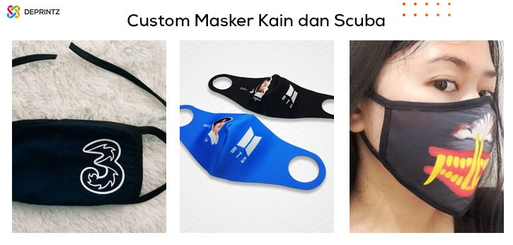 Hasil custom masker