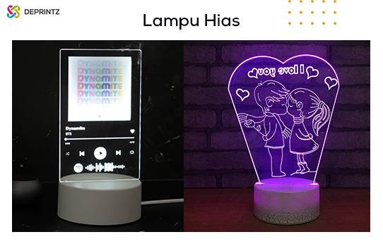 lampu hias akrilik