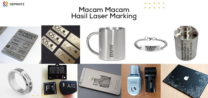 macam-macam hasil mesin laser marking