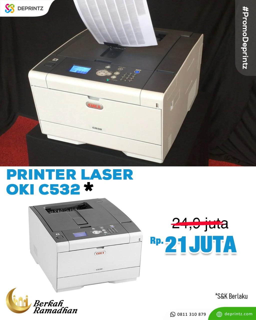 promo printer laser oki