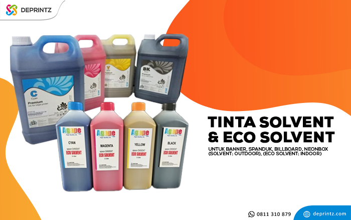 tinta solvent dan ecosolvent